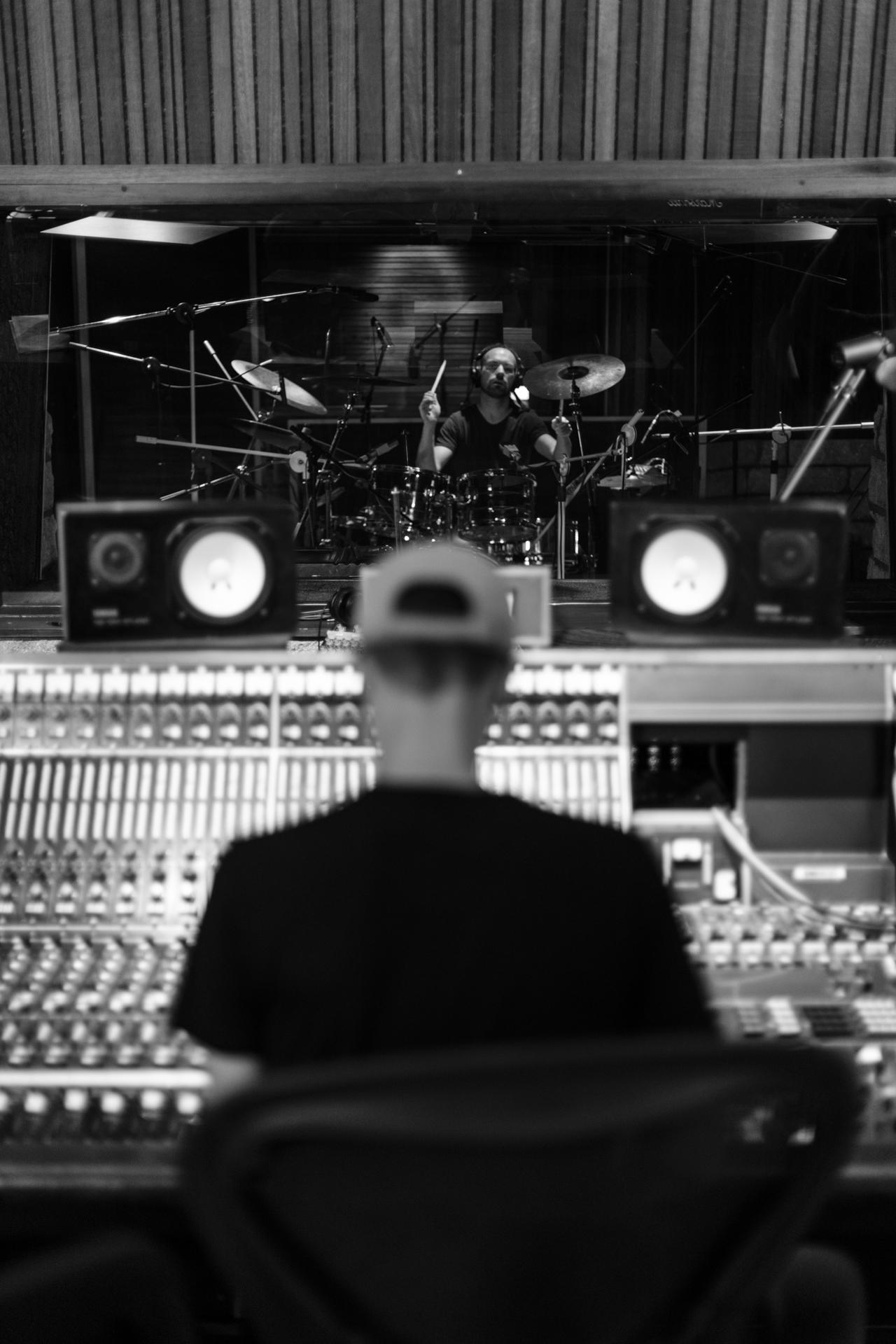 Studio C control room - cabine