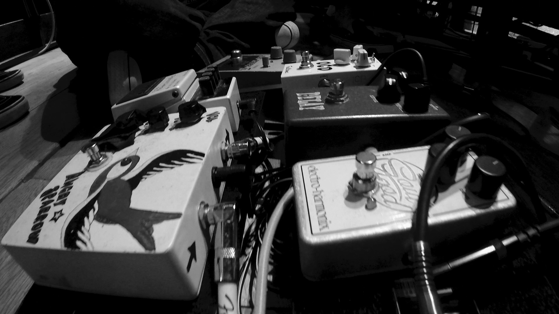 Pedals session studio C